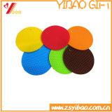 Sottobicchiere antisdrucciolevole del silicone dell'articolo da cucina della stuoia della tazza del silicone su ordinazione (XY-TY-64)