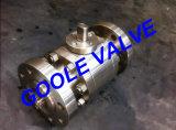 3 equipos de la válvula de bola flotante de acero forjado (GAQ41F)
