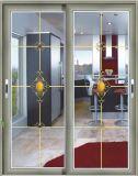 Porte-armoire à glissière profilé en aluminium
