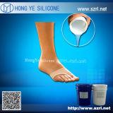 Gomma di silicone della cura di Addtion per il pezzo fuso di vita