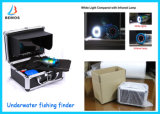"""appareil-photo imperméable à l'eau de pêche de caméra vidéo sous-marine de détecteur de 7 """" poissons de la couleur TFT"""