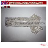 Tiroir de commande de perles blanches Décoration de Mariage Décoration maison (W1005)
