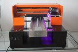 Impressora UV multifuncional para caixa de telefone celular Cartão de plástico Cartão de visita transparente