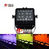 6in1 imprägniern 20PCS*15W LED Wäsche-Licht