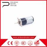 Мини-шестерни 12В постоянного тока электродвигателя привода щеток вращающегося пылесборника в автомат