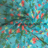 """Tela da tela 80%Nylon 20%Spandex da impressão da palma para o biquini """"sexy"""""""