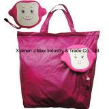 O saco Foldable, dobra únicos sacos de ombro, Saco da senhora, bolsa