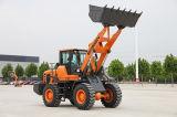 高品質Deutzエンジンを搭載する3トンの車輪のローダー