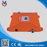 900/2100MHz se doblan aumentador de presión de la señal del teléfono móvil de la venda 2g 3G