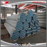 Pipes en acier galvanisées filetées de vente chaudes pour l'eau