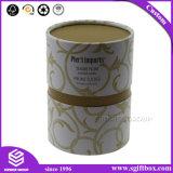 Caixa ambiental cosmética de empacotamento do perfume do presente do cartão redondo
