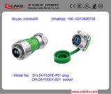 전기 케이블 광학 섬유 케이블 /Optic 섬유 전원 연결 장치