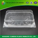 Contenitore rettangolare trasparente del contenitore di imballaggio del forno
