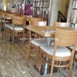 Venta caliente precio de fábrica mesa de restaurante y una silla de madera (SP-CS337)