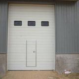 Haut vertical électrique industriel glissant la porte sectionnelle
