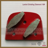 Disco de moedura concreto do diamante da ligação do metal de Deco para o moedor de Lavina