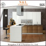 Modern Home Furniture Madeira folheada MDF Kitchen Furniture