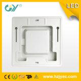 Nuevo 6W LED montado emergido delgado estupendo cuadrado Panellight