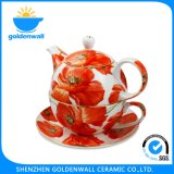 Colorful Fine Bone China 300ml Cup poison set Tea Mug