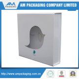Embalagem de papelão Caixas de transporte personalizadas com plástico Clear Window Cookies Box