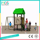 Оборудование игр парка атракционов спортивной площадки самолета детей изготовления напольное (HS06801)