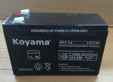 bateria de armazenamento acidificada ao chumbo de 12V 7ah para UPS, sistema de alarme