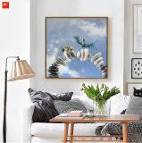 Oiseaux uniques et de pierres gravures de toile