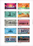 Gli S.U.A. designano il retro segno 15*30cm dello stagno oltre 200 disegni