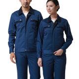 Produire un travail d'usine porter des vêtements de coton uniforme de travail industriels