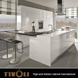 Armadi da cucina laminati di Grey dal nuovo disegno moderno 2017 Tivo-0083h di Ktichen