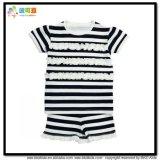 La impresión de los puntos de verano ropa de bebé camiseta sin mangas de los bebés niña Set