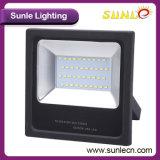 Iluminación al Aire Libre Delgada de la Inundación de la MAZORCA LED de la Cubierta Negra (SLFH32)