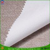 Tela de congregación impermeable tejida de la cortina del apagón de la tela de lino de la cortina del poliester del fabricante de la materia textil