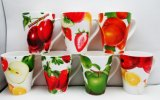 De in het groot Ceramische Mok van het Verse fruit
