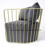 حديثة نسخة وقت فراغ قهوة فولاذ يتعشّى كرسي تثبيت أريكة وحيد