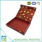 Коробка лоснистого подарка закрытия Prining магнитного упаковывая