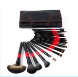 22 PCS Maquillaje cepillo conjunto herramienta cosmética con bolsa de cuero de la PU