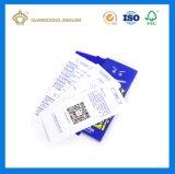 Etiquetas y tarjetas de papel de la caída para el regalo promocional o el producto de DIY (impresión de la tarjeta)