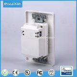 Z-Agitar el adaptador montado en la pared de la potencia del socket del cargador de la potencia de Sumpple 2-Outlet para el hogar elegante