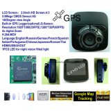 """싼 개인적인 2.0 """" HD1080p 사진기를 가진 차 DVR, 5.0mega CMOS, G 센서Builit 에서, 야간 시계와 더불어, 디지털 비디오 녹화기 DVR-2001"""