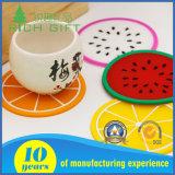 Custom Coffee Tea Silicone / caoutchouc / Soft PVC Cup Mat Pad pour décoration intérieure