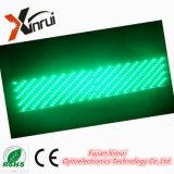 Im FreienP10 sondern grüne LED-Text-Bildschirm-Anschlagtafel-Baugruppe aus