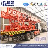 Utilizado para agua potable, Hfc400 camión montado de perforación de pozos de agua