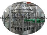 アルミニウム帽子ジュースの飲み物の充填機が付いているガラスビン