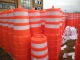 交通安全のプラスチック道の障壁のドラム