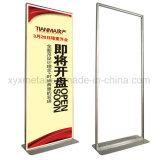 Publicité Affiches d'exposition Hangers Aluminium Vertical Display Stand