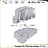 De Uitdrijving Heatsink van het Aluminium van de Apparatuur van het stadium