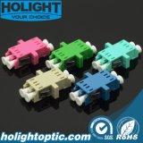 LC aan LC Duplex Optische Adapter met Flens