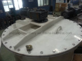 el tanque de mezcla plástico del producto de limpieza de discos del tocador 3000L