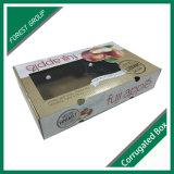 Коробка подноса гофрированной бумага для коробки плодоовощ